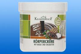 Testkrém kakaó- és sheavajjal 250 ml