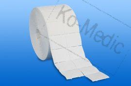 Rollnis sebtörlő lapkák NOBAZELLTUPF steril, 4x5 (500 lap) 1db/csomag