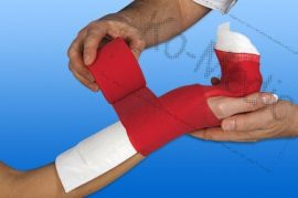 Műanyag végtagsín NOBASPLINT 5x25 cm, ujj/kéz