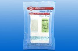 Hasi törlő (steril) 20x30 cm, 4 réteg, 2db törlő/fólia, fehér 70 fólia/dob