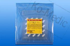 Preparációs törlő rtg. jelölővel (steril), 8x8 cm, 20 db törlő/fól, 35 fólia/dob