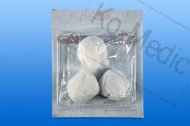 Gömbtörlő (steril), Ø 4 (tojás), 2 db gömb/fólia, 25 fólia/dob