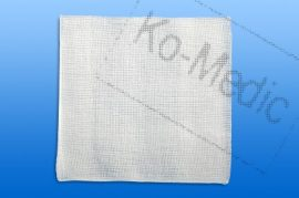 Mull lap, hajtogatott, szőtt, nem steril, 12 réteg, 5x5 cm, 100 mull/cso