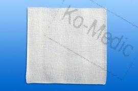 Mull lap, hajtogatott, szőtt, nem steril, 12 réteg, 10x10 cm, 100 mull/cso