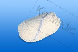 Preparációs törlő rtg. jelölővel (nem steril), 4x4 cm, 1000db/csom